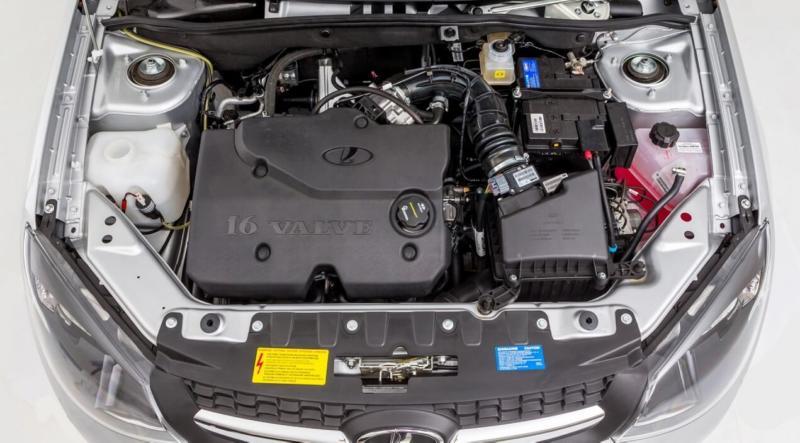 Двигатель Lada Kalina