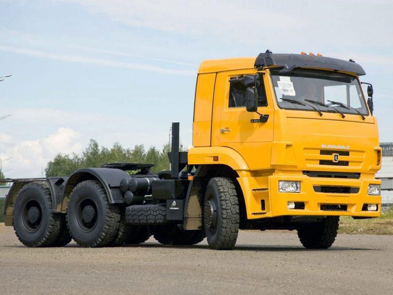 Обновленный КамАЗ-6460