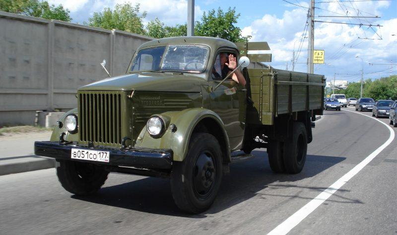 ГАЗ-63 бортовой
