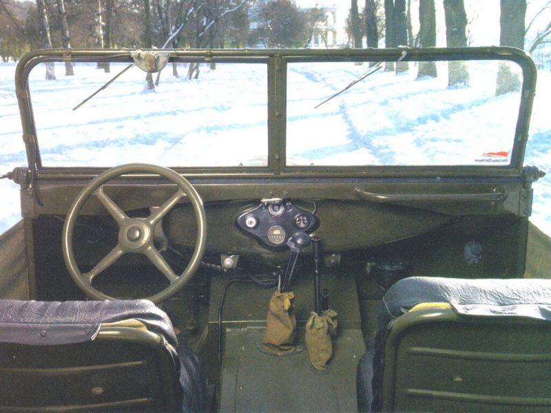 ГАЗ-67 салон