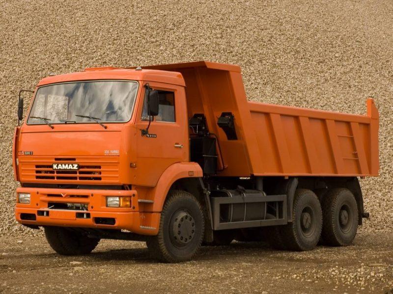 КамАЗ-6520 со старой кабиной