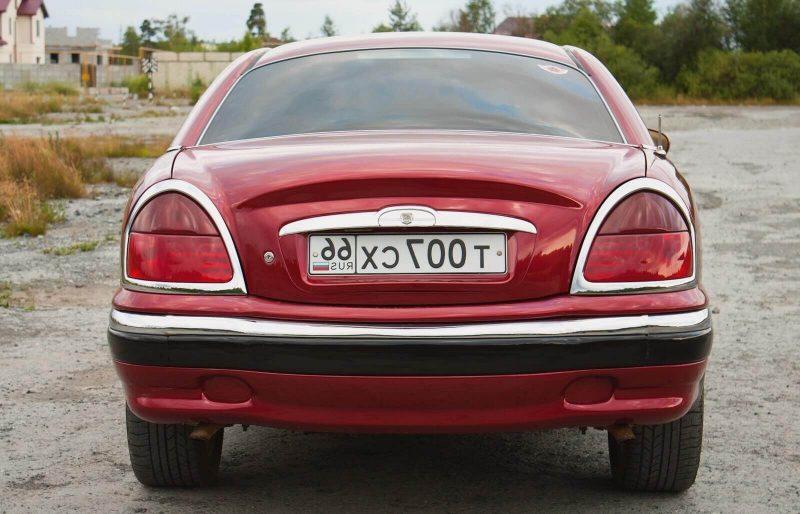 Вид сзади Волга-3111