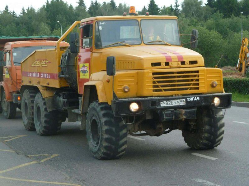 КрАЗ-260 1979 года