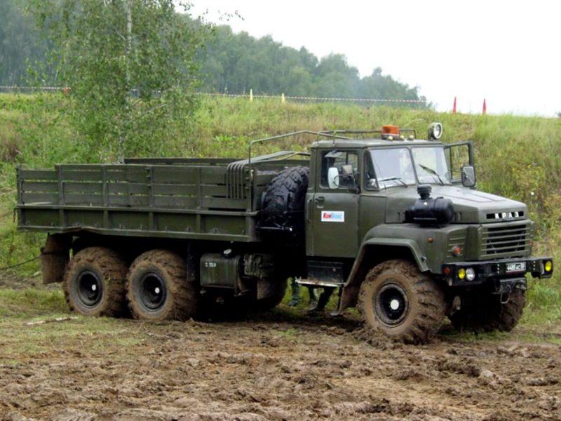 КрАЗ-260 фото бортовой