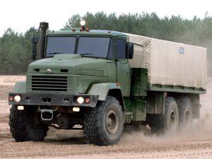 Kraz-6322 грузопассажирский
