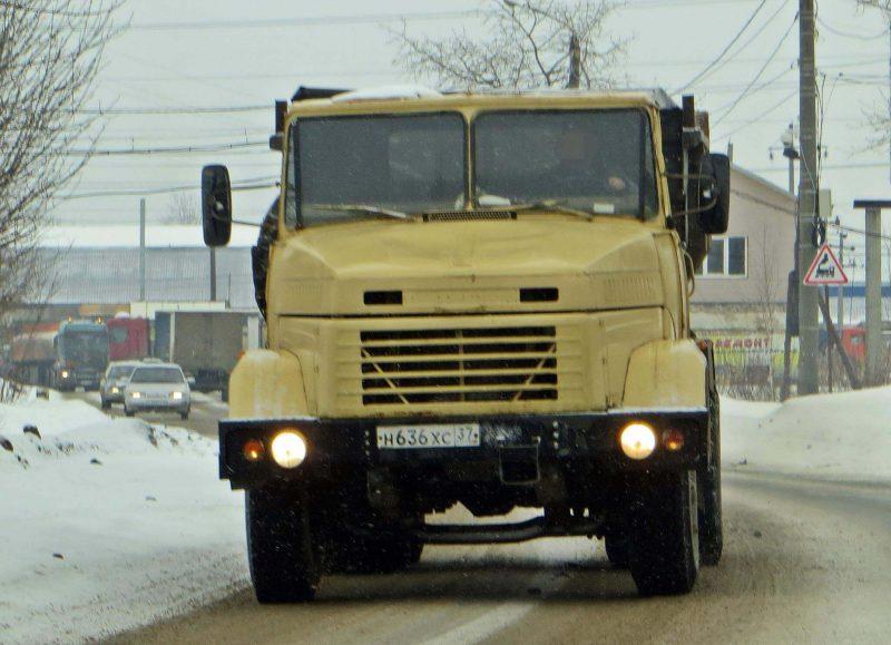 Вид спереди КрАЗ-6510