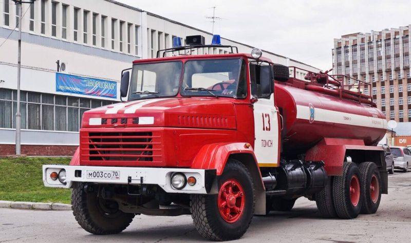Пожарная машина КрАЗ-6510