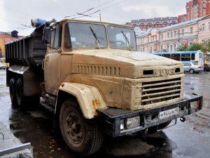 Фотография грузовика Kraz-6510