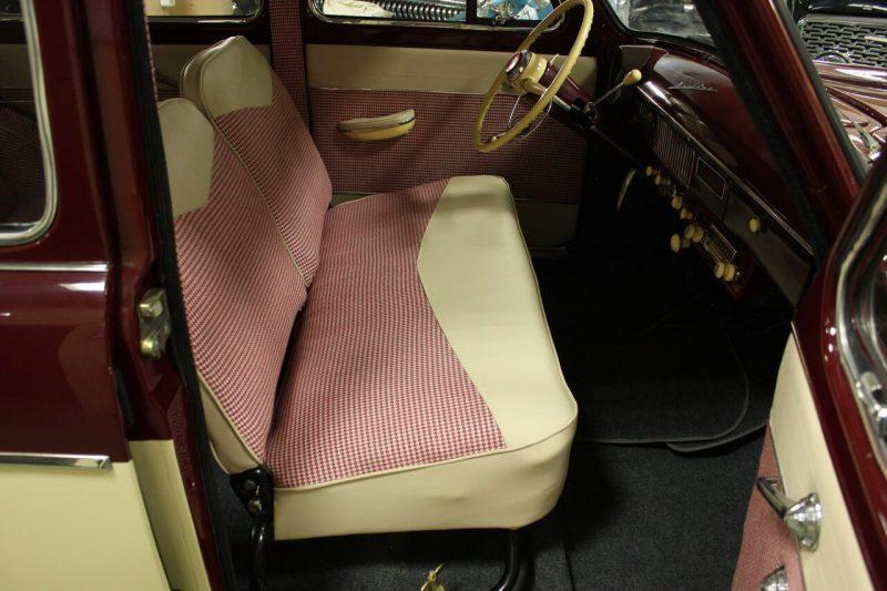 Москвич-407 передний диван