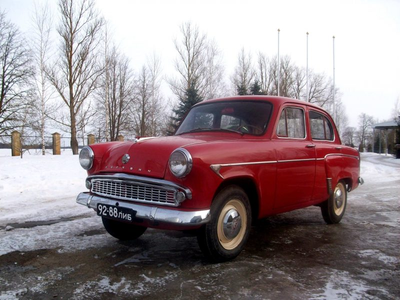 Москвич-407 фото седана