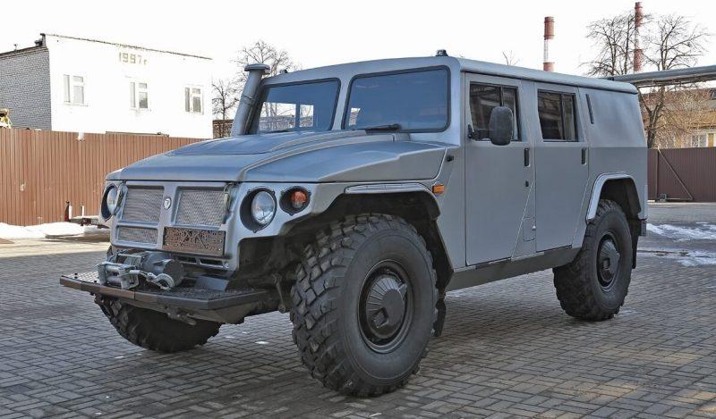 Вседорожник ГАЗ-2330 «Тигр»