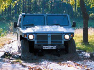 Вид спереди ГАЗ-2330