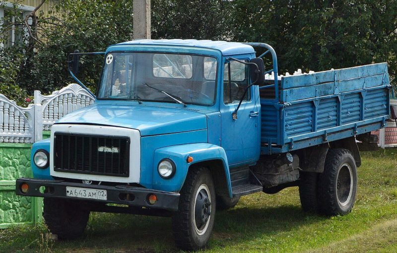 ГАЗ-3307 фото грузовика