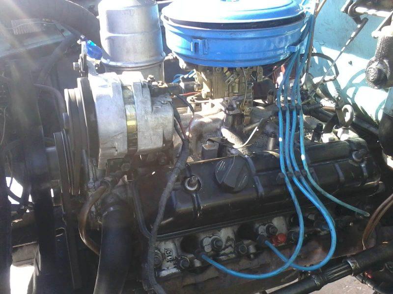 ГАЗ-3307 двигатель