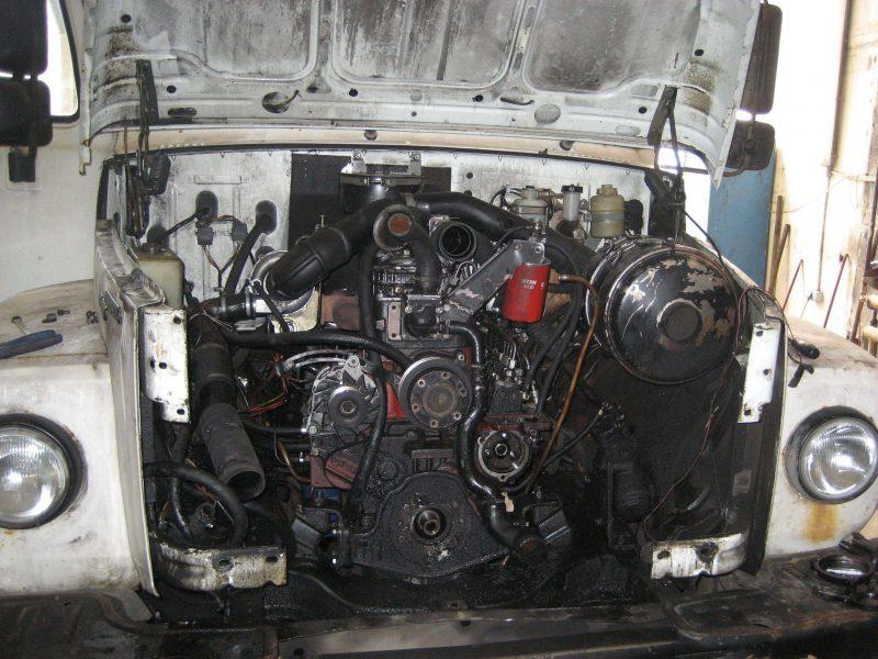 ГАЗ-3309 двигатель