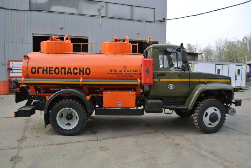 ГАЗ-3309 фото бензовоза