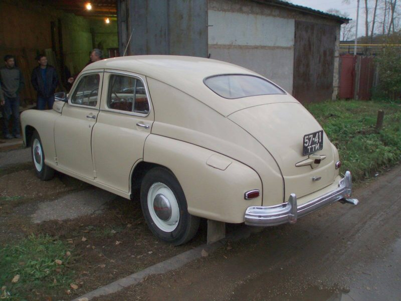 Авто ГАЗ-М20 Победа 1946 года