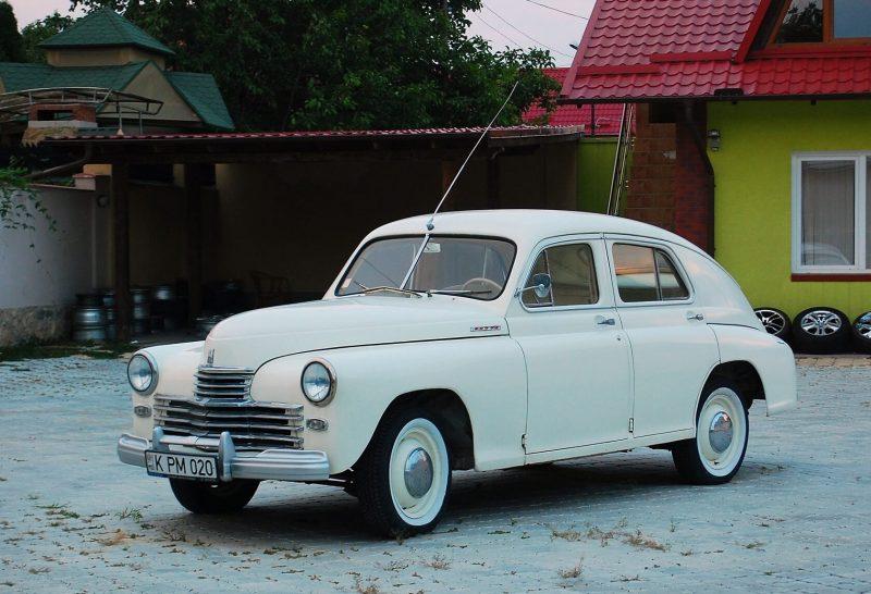 Авто ГАЗ-М20 Победа