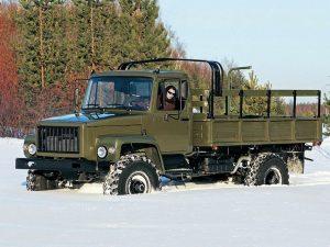 Бортовой ГАЗ-3308