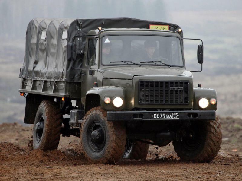 Вид спереди ГАЗ-Садко