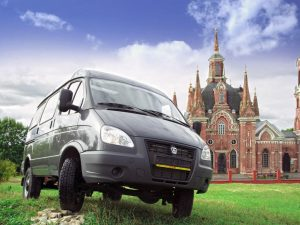 Вид спереди ГАЗ 2752