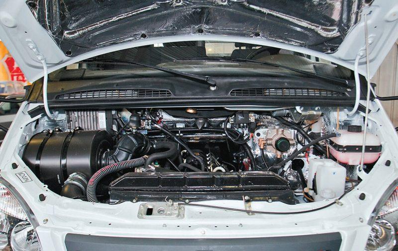 ГАЗ-Валдай двигатель