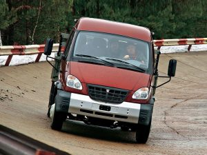 ГАЗ-3310  вид спереди