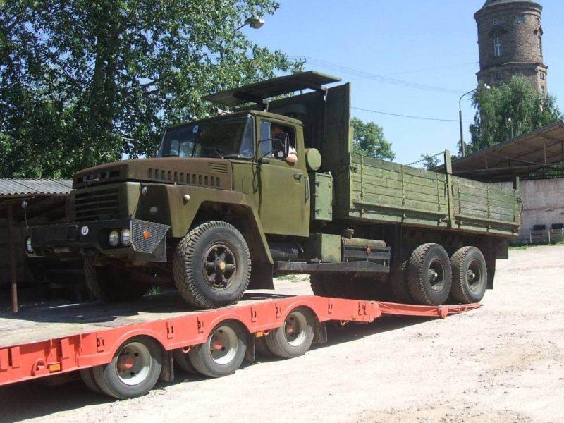 КрАЗ-250 бортовой