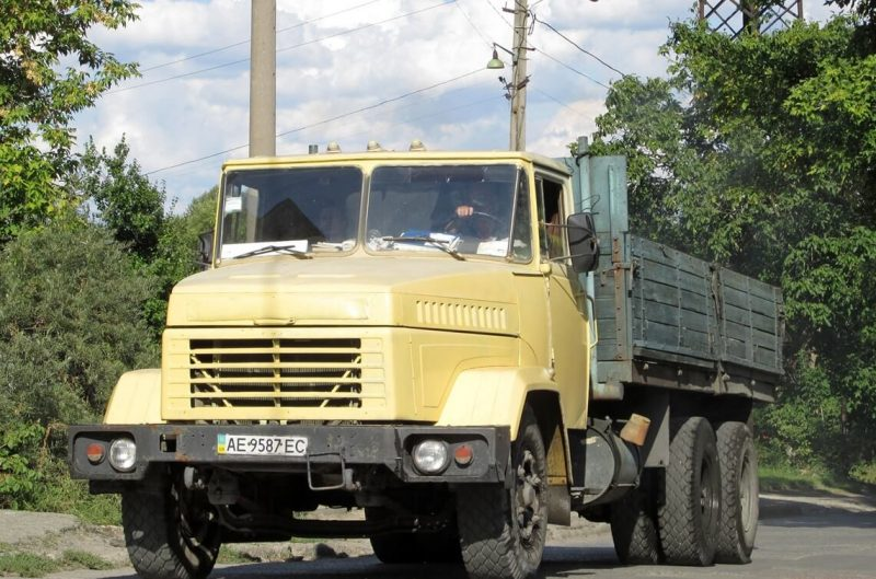 Вид спереди КрАЗ-250