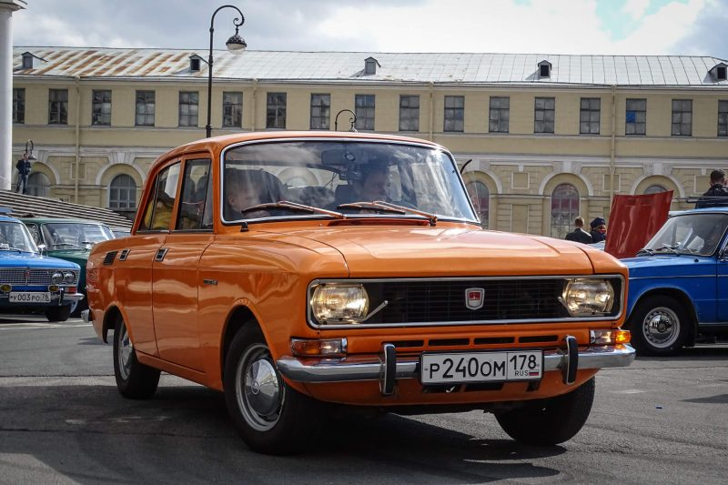 Вид спереди Москвич-2140