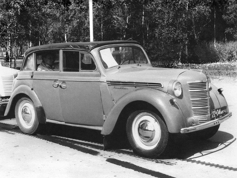 Москвич-400 авто
