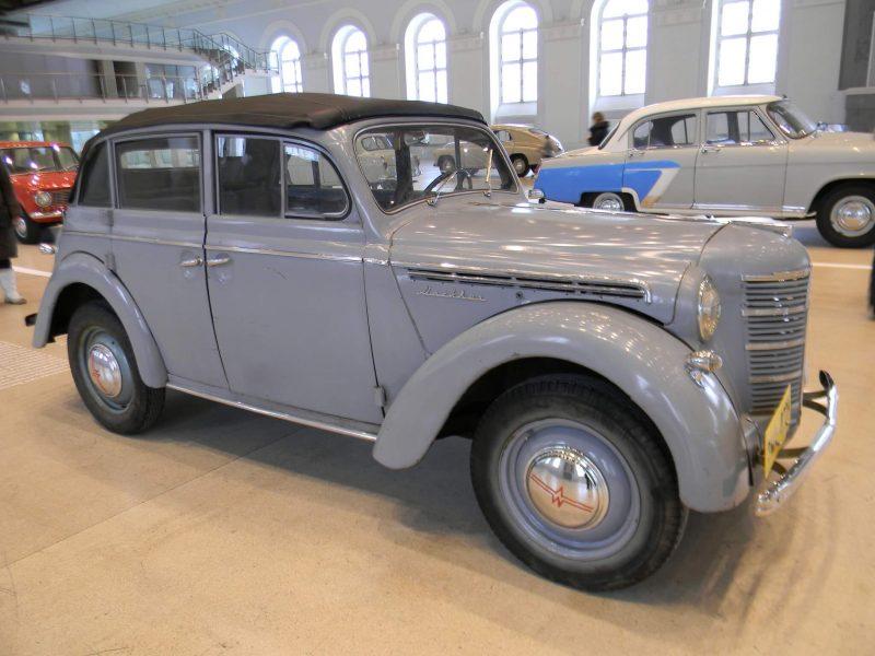 Москвич-400 фотография автомобиля
