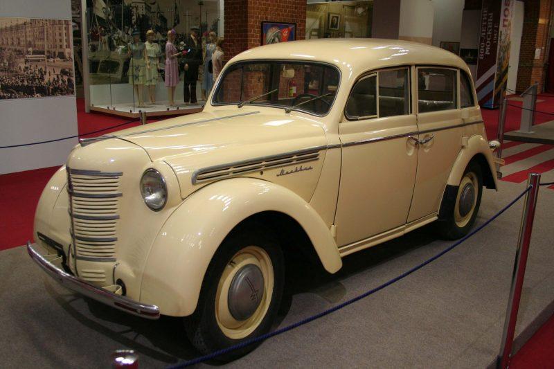 Москвич-400 1946 года производства