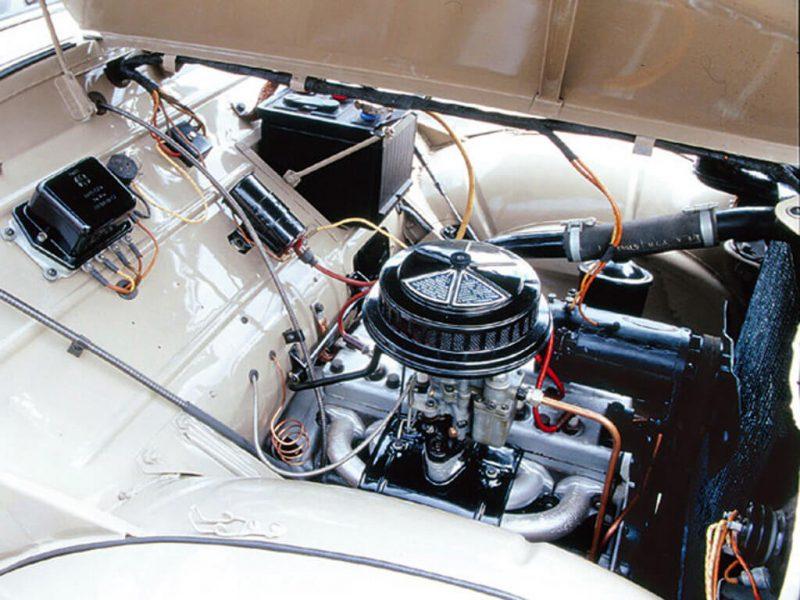 Москвич-400 двигатель