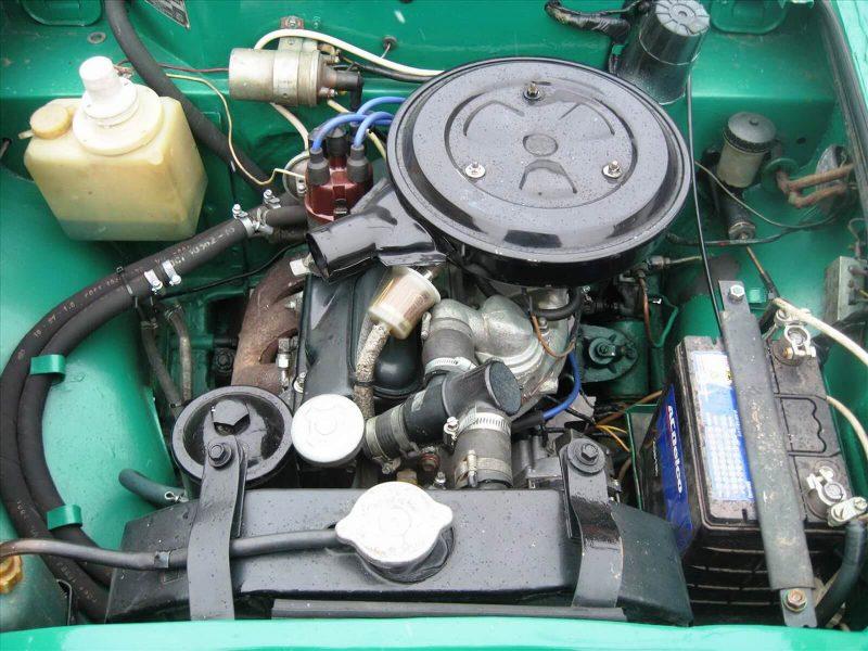 Москвич-403 двигатель