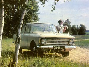 Moskvich-408 вид спереди