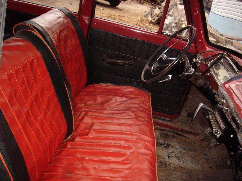 Москвич-408 передний диван