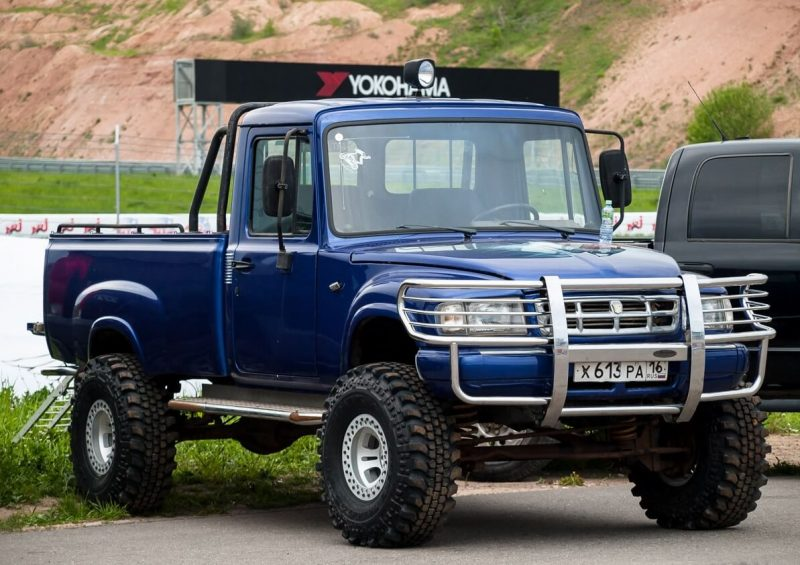 Фото авто ГАЗ-2308 «Атаман»