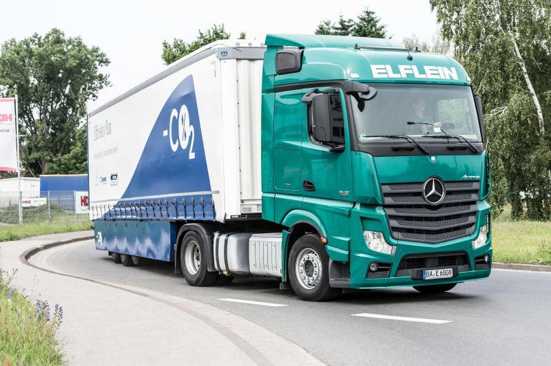 Авто Mercedes-Benz Actros IV