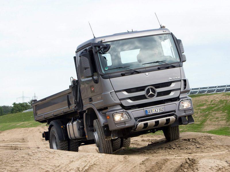Mercedes-Benz Actros бортовой