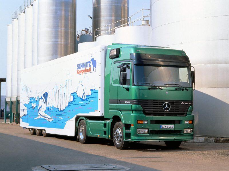 Первого поколения Mercedes-Benz Actros
