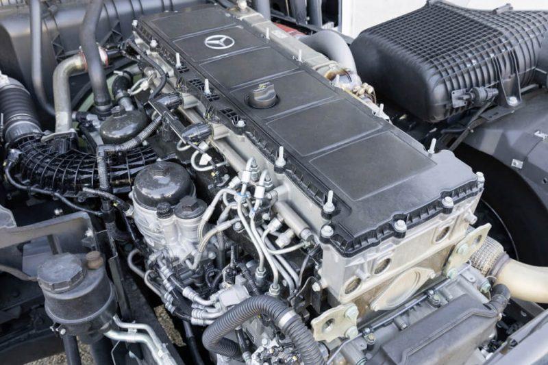 Mercedes-Benz Actros фото двигатель