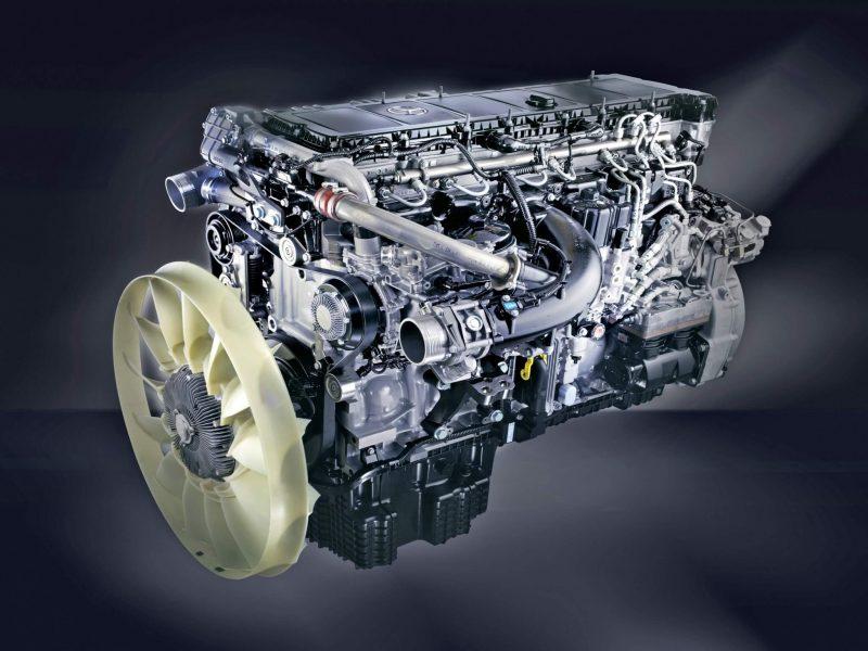 Mercedes-Benz Actros двигатель