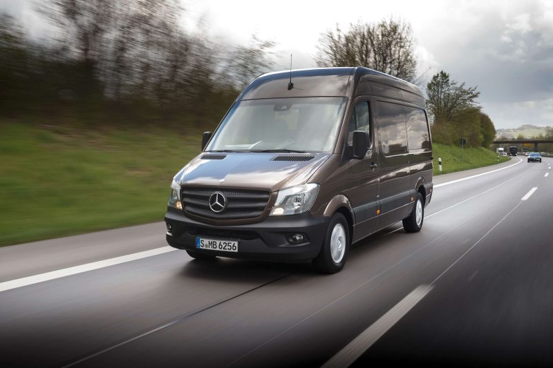 Фото нового Mercedes-Benz Sprinter