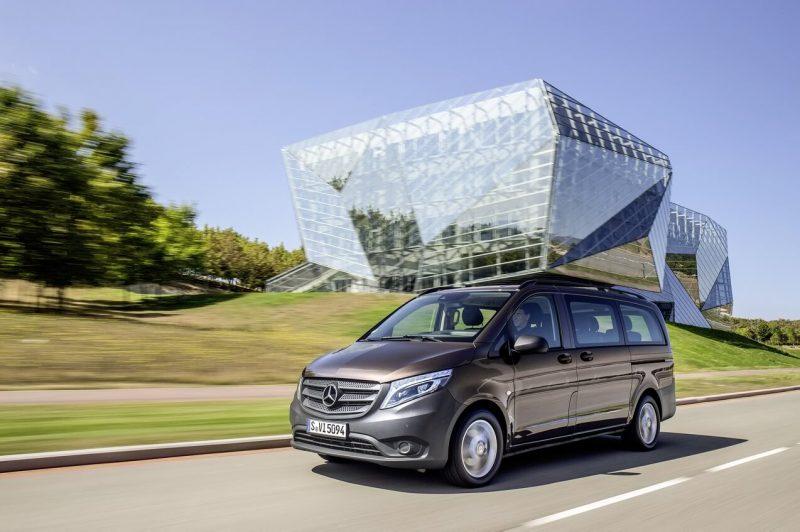 Новый микроавтобус Mercedes-Benz Vito