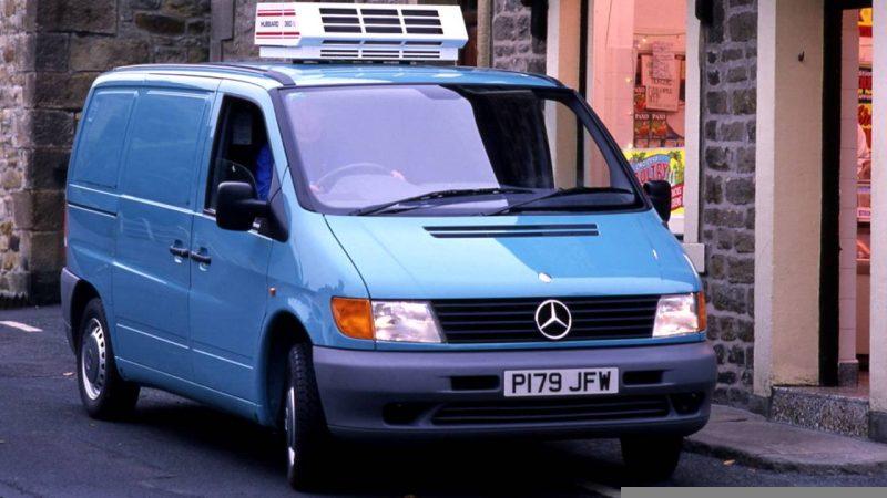Первое поколение Mercedes-Benz Vito