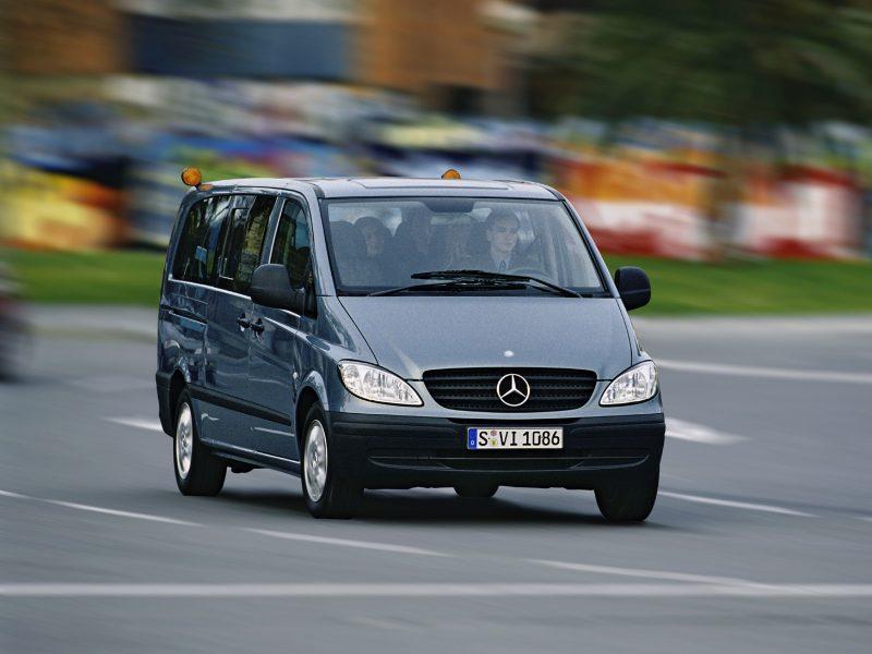 Второго поколения Mercedes-Benz Vito
