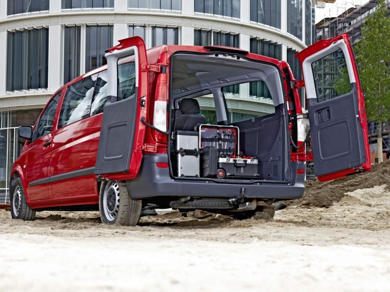 Багажник Mercedes-Benz Vito