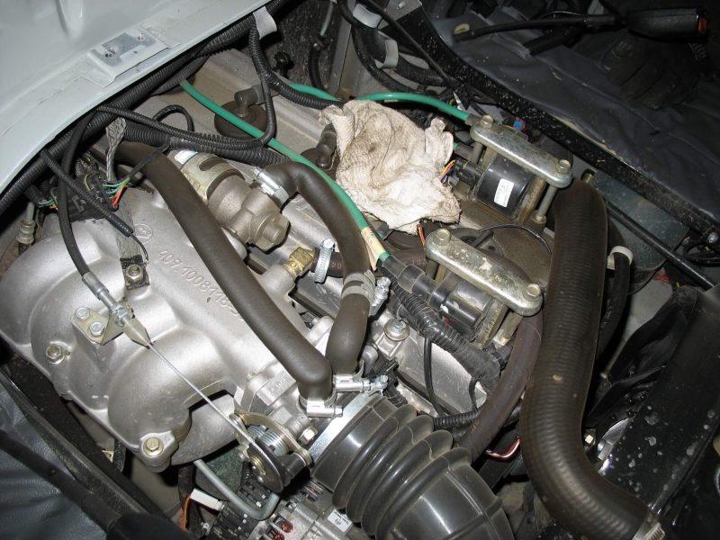 УАЗ-452 двигатель