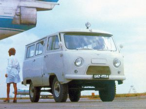 Фотография микроавтобуса УАЗ-452